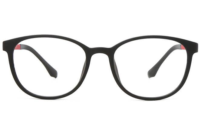 Madonna Oval Eyeglasses