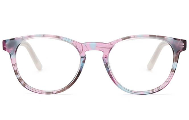 Mimi Spring Hinge Oval Eyeglasses