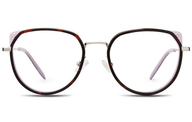 Britt Spring Hinge Cat Eye Eyeglasses