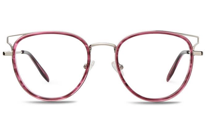 Marianne Spring Hinge Cat Eye Eyeglasses