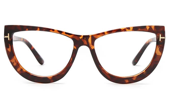 Dione Spring Hinge Cat Eye Eyeglasses