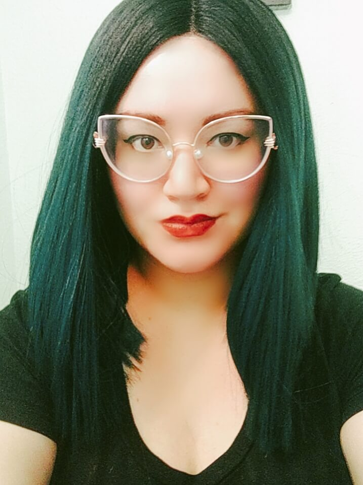 """I just love these """"Chrischris"""" style glasses! They're so fun with the pearl nose pieces and little hands holding the frames. I get compliments where ever I go! In facet my sisters loved them on me so much they also ordered a pair. Definitely, a must buy for the fun loving, statement makers."""