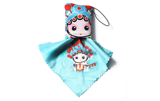 Chinese Opera Mask Cleaning Cloth