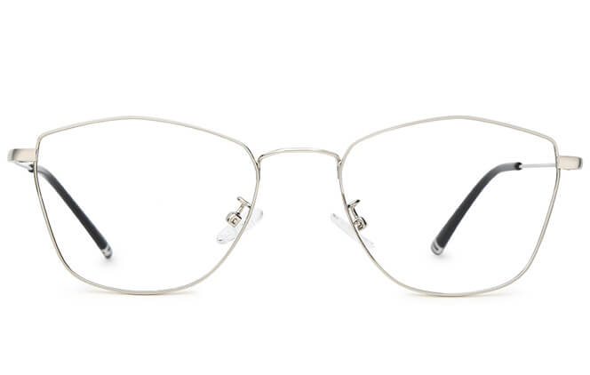 Willie Cat Eye Metal Eyeglasses