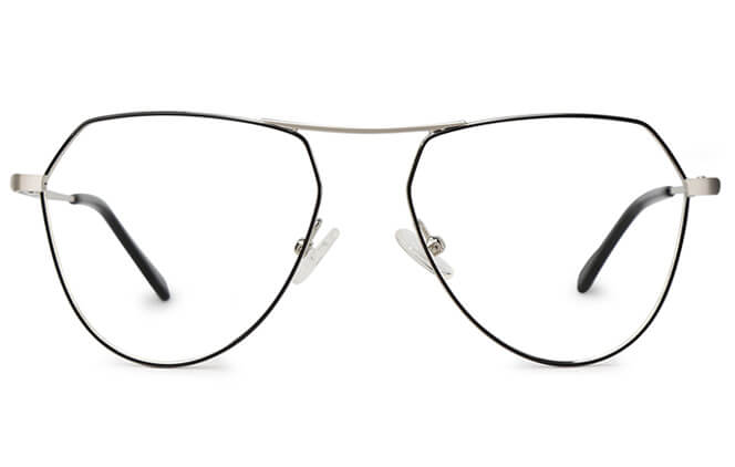 Madison Aviator Spring Hinge Eyeglasses