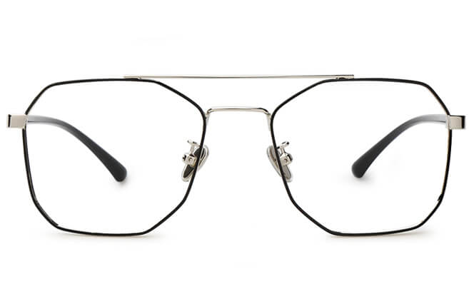 Dawson Avaitor Metal Eyeglasses