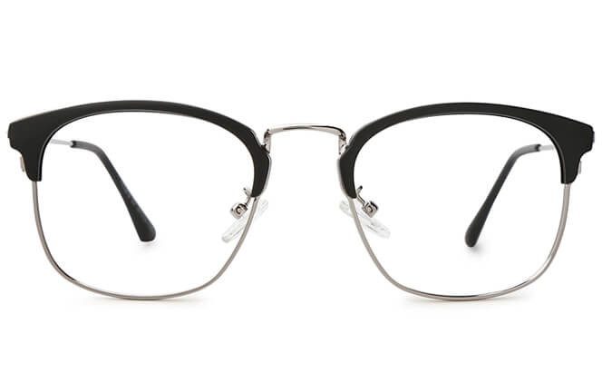 Skylar Browline Rectangle Eyeglasses