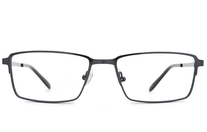 Quintin Spring Hinge Rectangle Eyeglasses