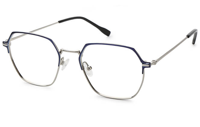 Wynn Metal Hexagon Eyeglasses фото