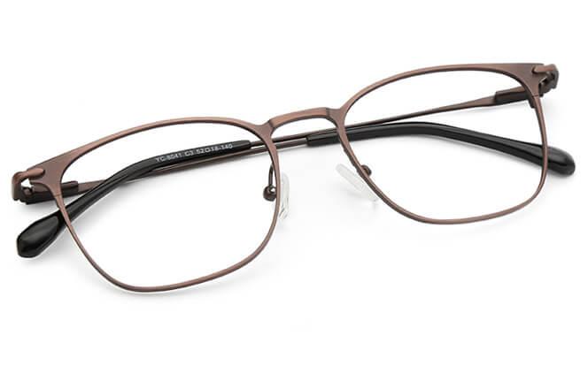 Jesse  Spring Hinge Rectangle Eyeglasses