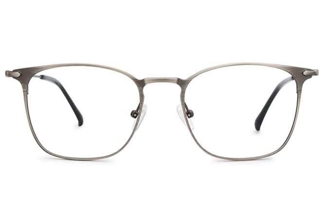 Jesse  Spring Hinge Rectangle Eyeglasses