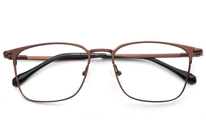 Noah Metal Rectangle Eyeglasses