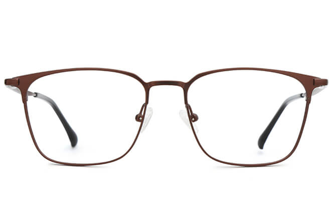 Noah Metal Rectangle Eyeglasses