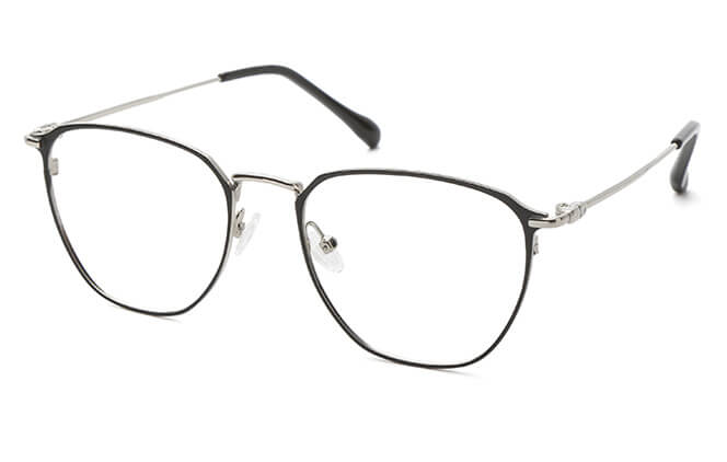 Starr Metal Rectangle Eyeglasses фото