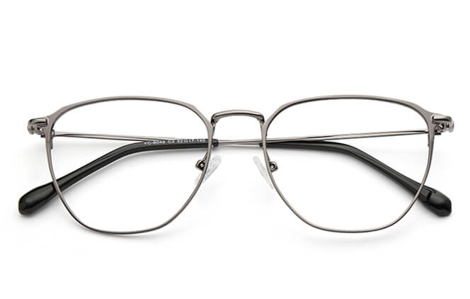 Starr Metal Rectangle Eyeglasses
