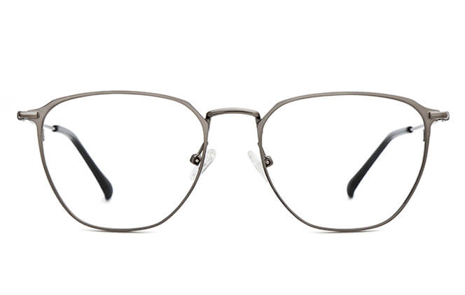Starr Metal Rectangle Eyeglasses