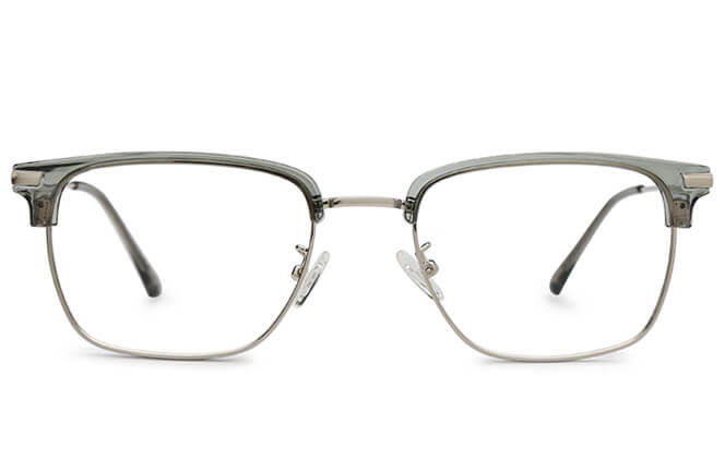 Elena Browline Rectangle Eyeglasses