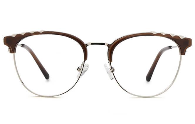 Devin Browline Spring Hinge Eyeglasses