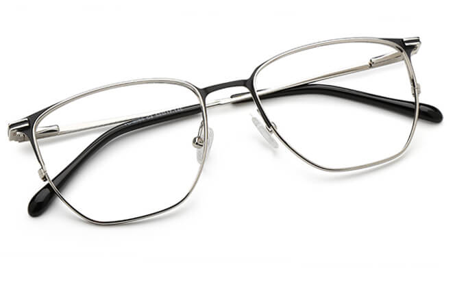 Burnett Rectangle Spring Hinge Eyeglasses