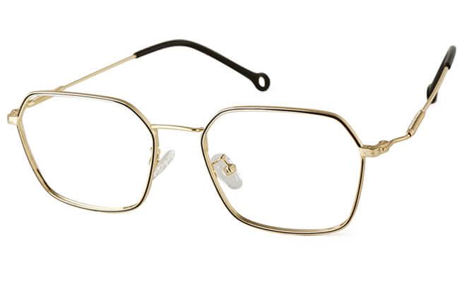 Reagan Metal Pentagon Eyeglasses фото