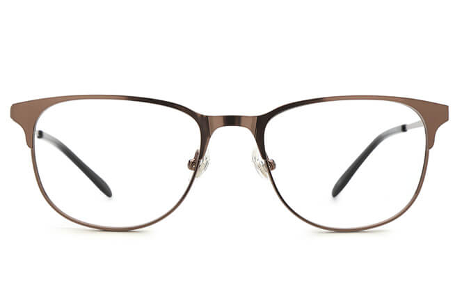 Stark Oval Metal Eyeglasses