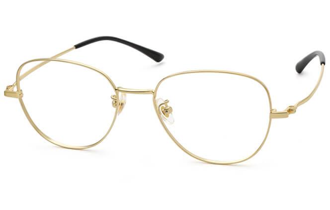 Awilda Titanium Round Eyeglasses фото