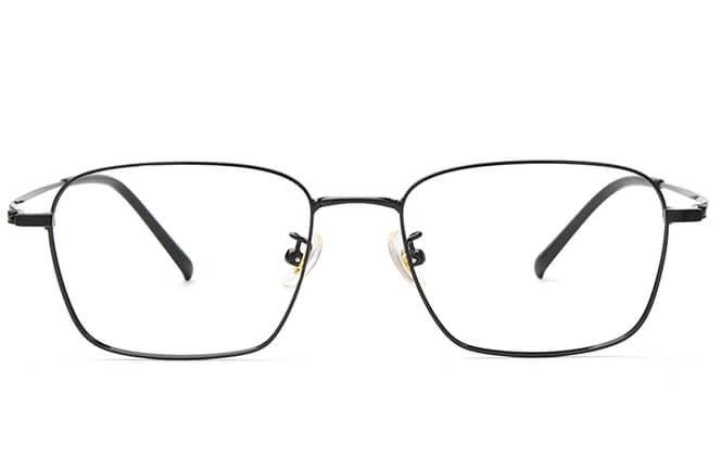 Trista Titanium Rectangle  Eyeglasses