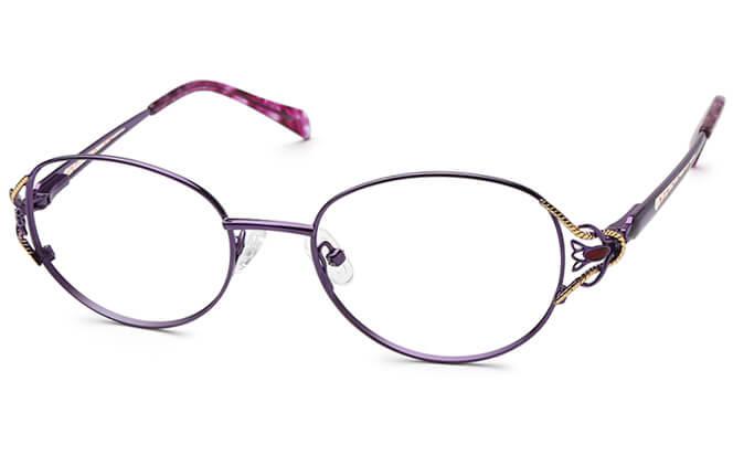 Tomika Metal Oval Eyeglasses