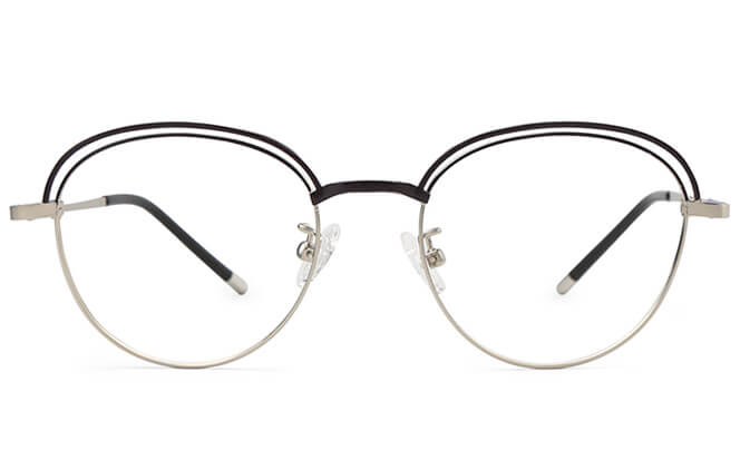 Filomena Round Eyeglasses