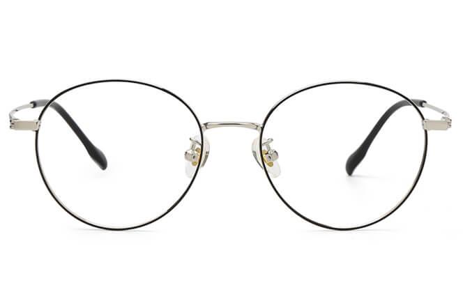 Raph Round Metal Eyeglasses