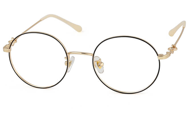 Joselin Round Metal Eyeglasses фото