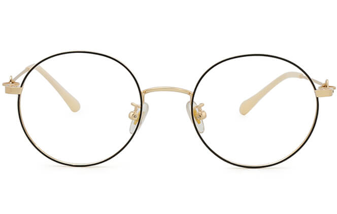 Joselin Round Metal Eyeglasses