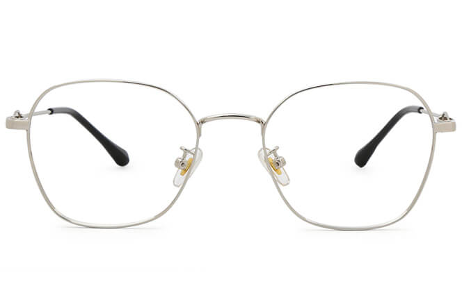 Talitha Rectangle Metal Eyeglasses