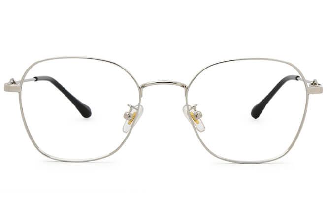 Talitha Rectangle Metal Eyeglasses