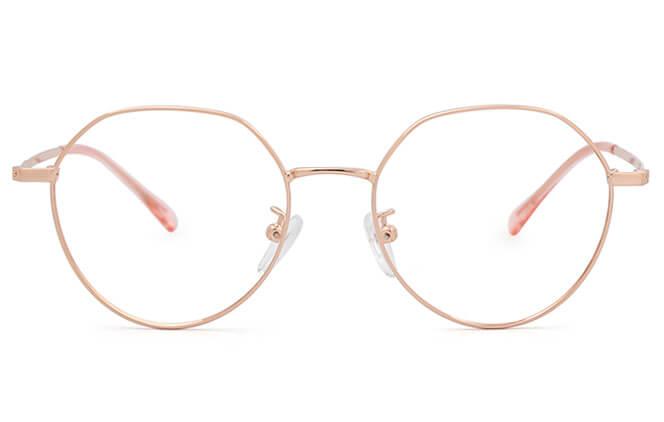 Tysheria Round Metal Eyeglasses