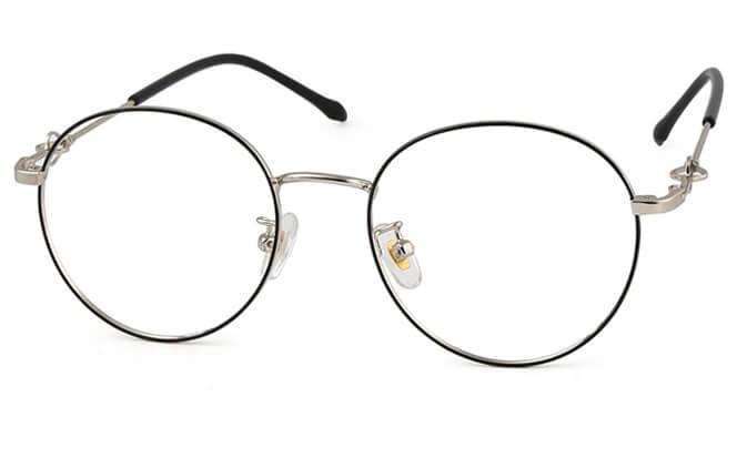 Lyndsey Round Metal Eyeglasses фото