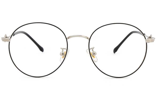 Lyndsey Round Metal Eyeglasses