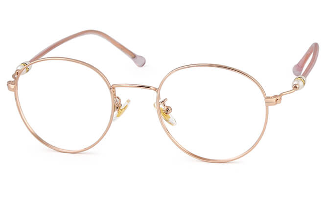 Kittie Round Eyeglasses фото