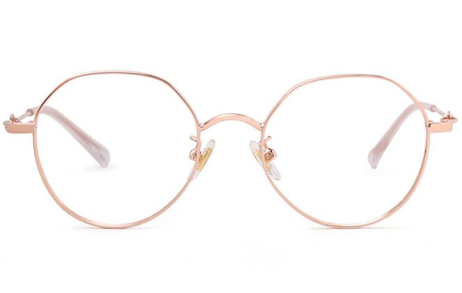 Shova Round Eyeglasses