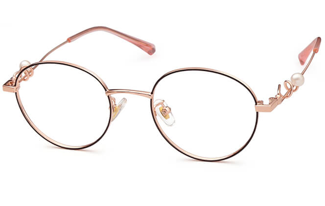 Yomaira Round Eyeglasses фото