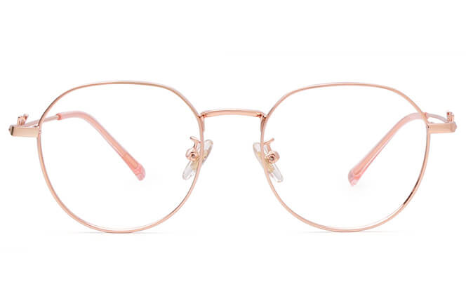 Tiffanie Round Metal Eyeglasses