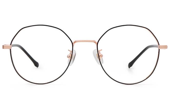 Virgie Round Metal Eyeglasses