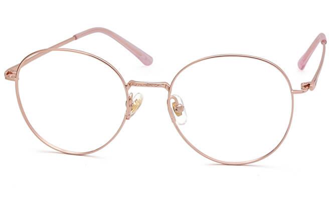 Mollia Titanium Round Eyeglasses фото