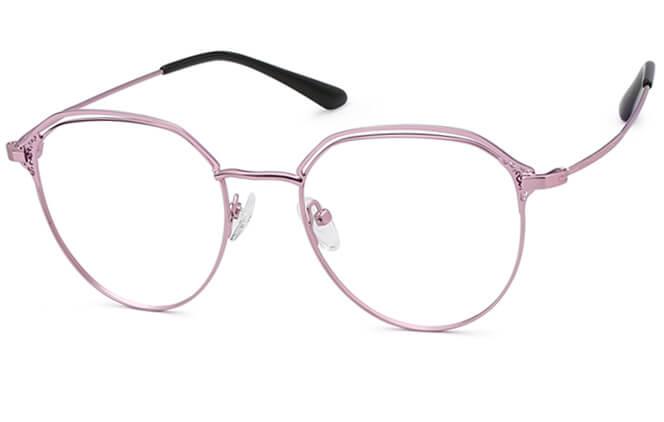 Maliyah Round Metal Eyeglasses фото