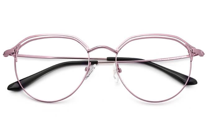 Maliyah Round Metal Eyeglasses