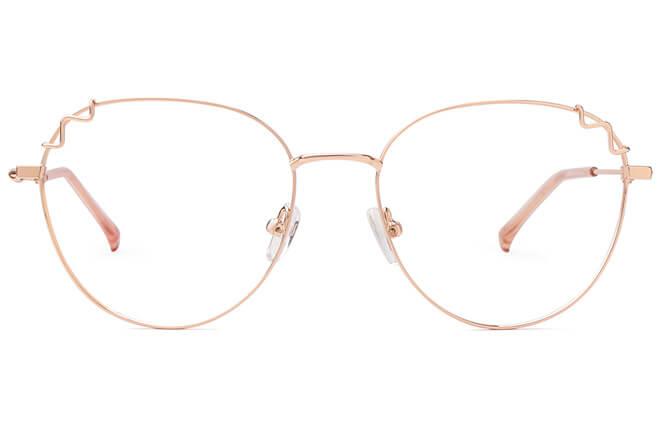 Harkins Round Metal Eyeglasses