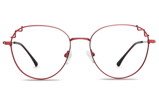 Harkins Round Metal Eyeglasses