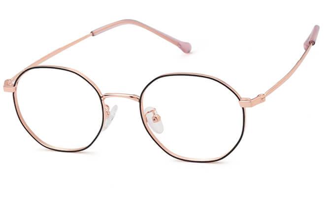 Morales Oval Metal Eyeglasses фото