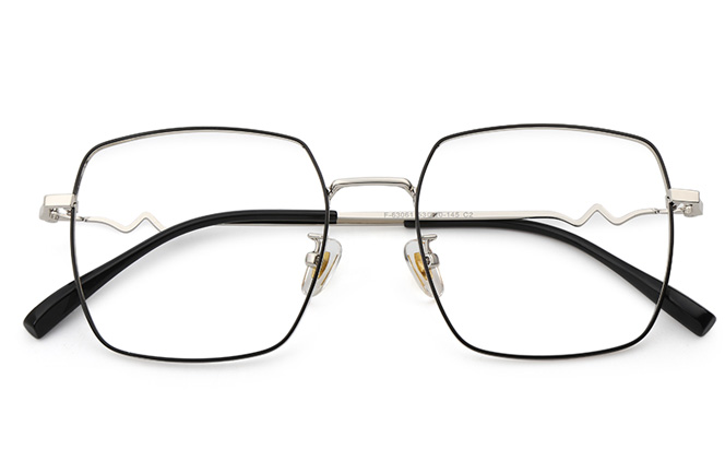 Mila Metal Square Eyeglasses