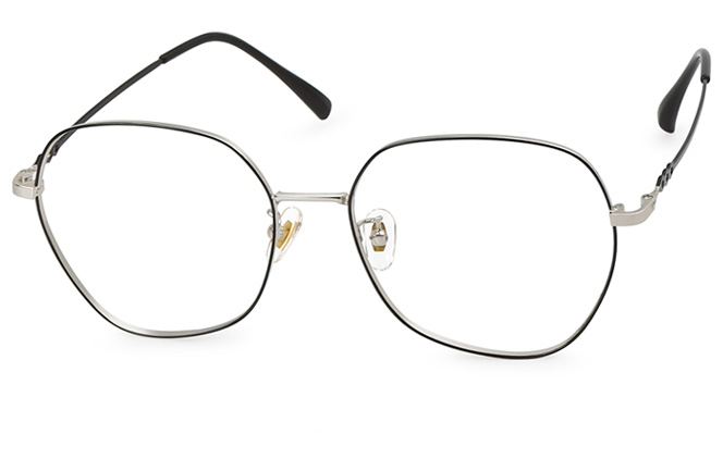 Dasha Metal Square Eyeglasses фото